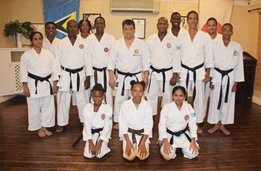 Image: The Saint Lucia Shotokan Karate Association recently celebrated its 25th Anniversary of Independence.