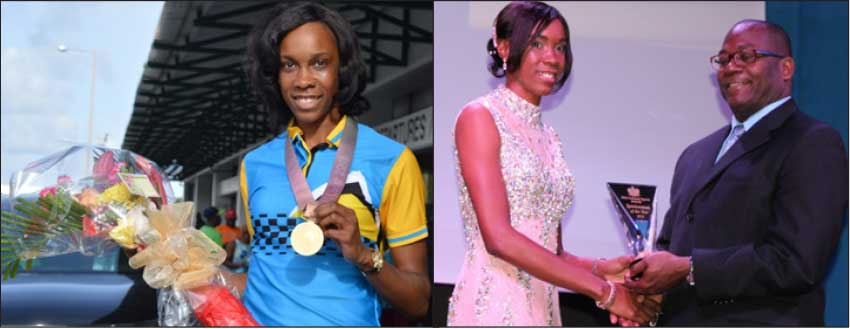 Commonwealth Games, Gold Coast, Australia high jump Queen Levern Spencer