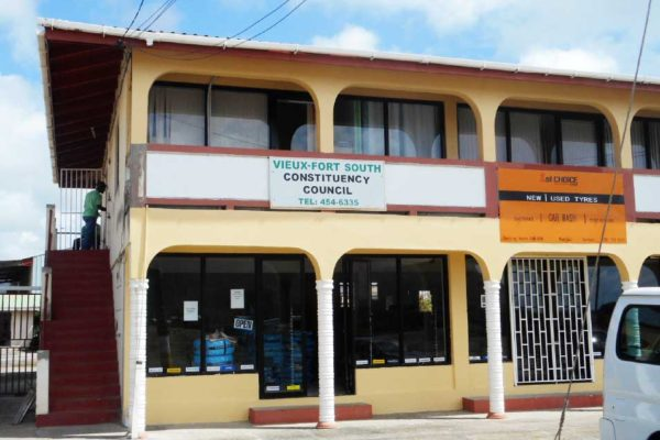 Image: The office of the Vieux Fort South Constituency Council.
