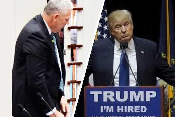 Image of Prime Minister Honourable Allen M. Chastanet & U.S. President Donald J. Trump
