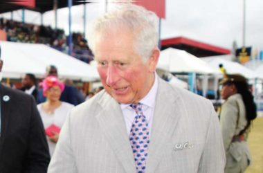 Image of His Royal Highness, the Prince of Wales, was a guest of honour to a celebration in Vieux Fort marking Saint Lucia's 40th Anniversary of Independence. (PHOTO: PhotoMike]