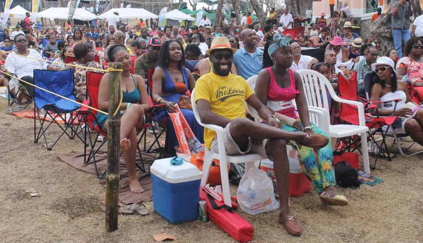 Image: Flashback: Attendees at a Saint Lucia Jazz event.