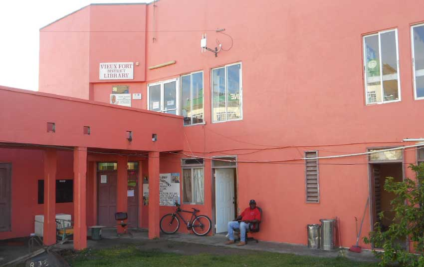 Image of the Vieux Fort Public Library