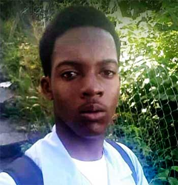 Image of Seventeen-year-old student Arnold Joseph lost his life after an encounter with police.
