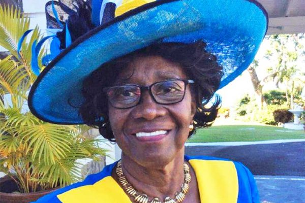 Image of Saint Lucia's Former Governor General Dame Pearlette Louisy.