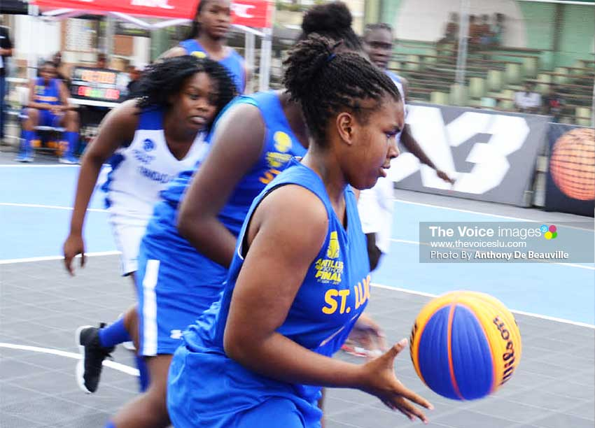 Image of Female basketballer Mia George (PHOTO: Anthony De Beauville)