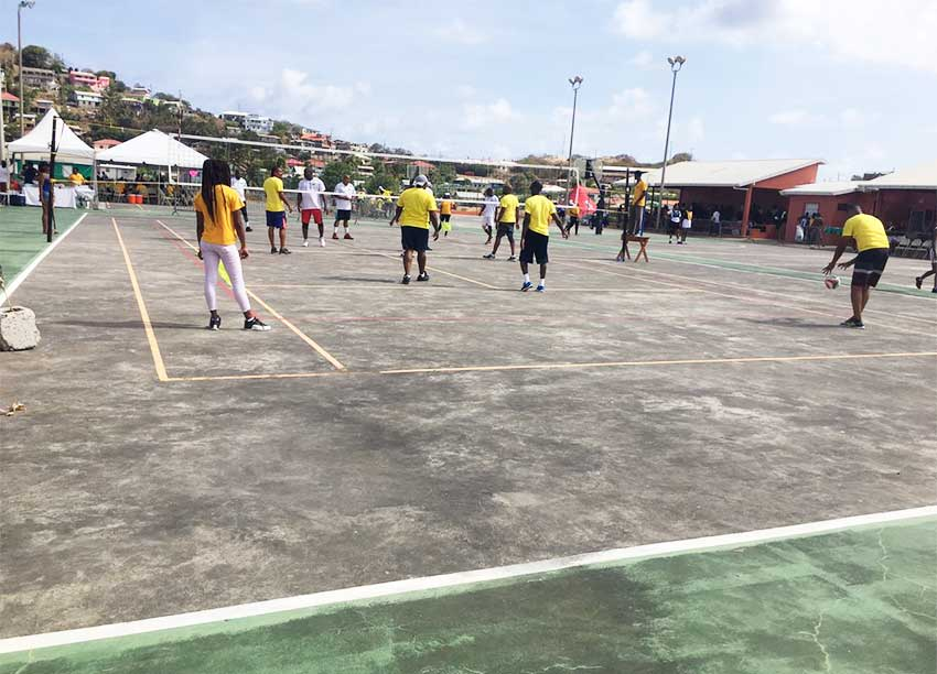 Image of Independence sports — Volleyball