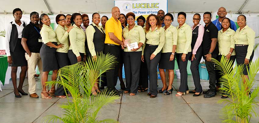 Image of LUCELEC's 2018 Large Department of the Year