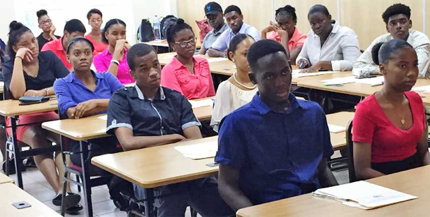 Image of Students at the Orientation Workshop.