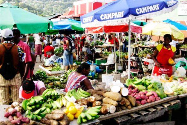 Image of Castries Market