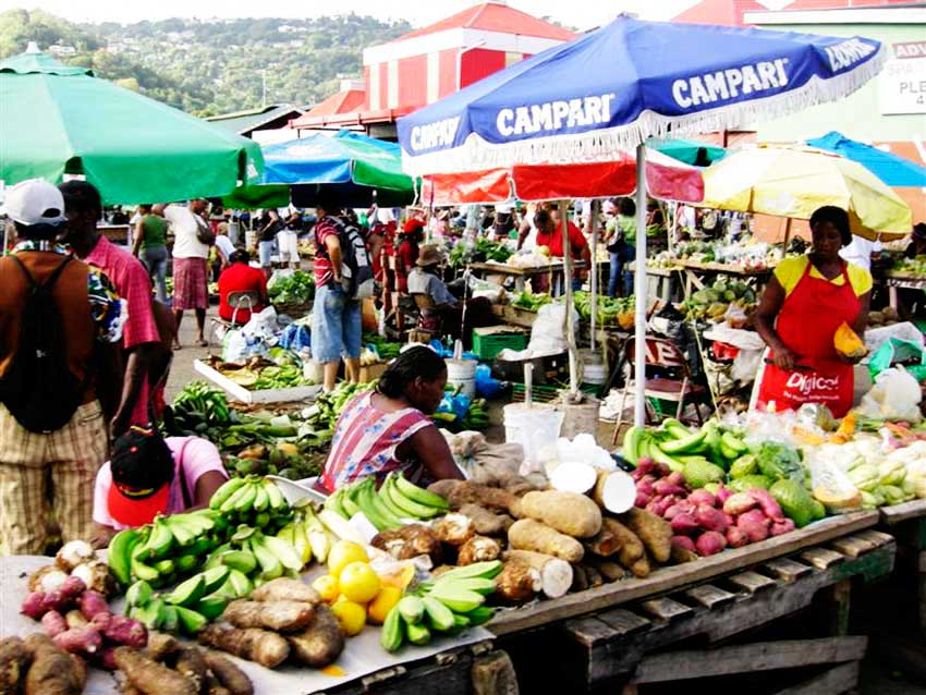 Image of Castries Market