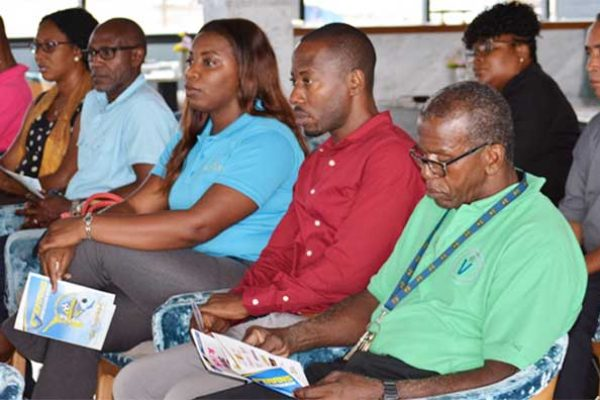 Image: A section of the audience at the official VISI launch at Sandals Halcyon. (Photo: Anthony De Beauville)