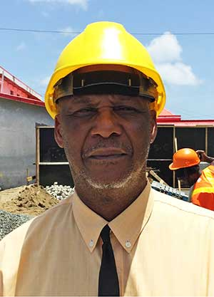 Image of Castries Mayor Peterson Francis.