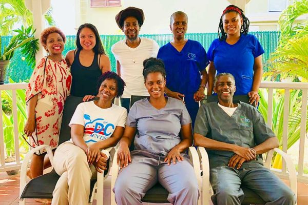 Image: The DC Dentist Crew with TOCO members