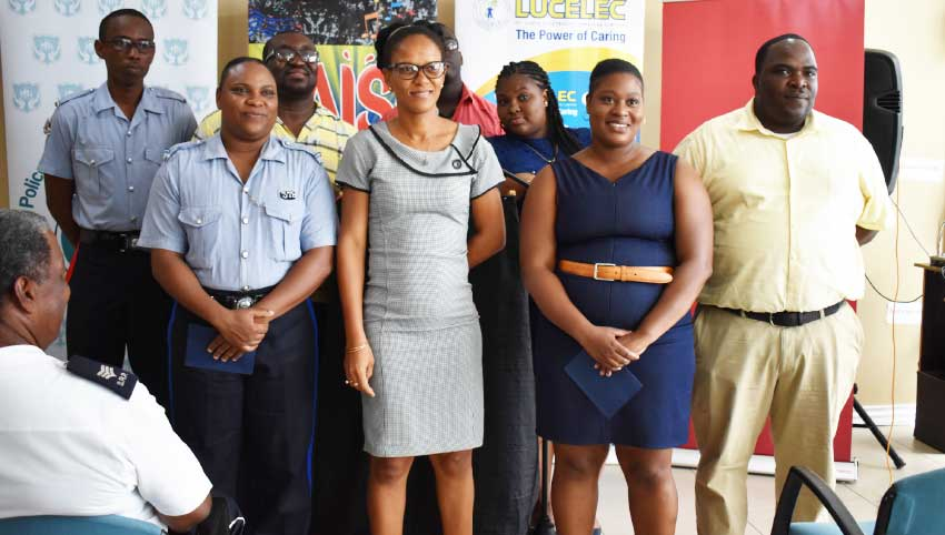 Image of some of the participating Calypsonians for Kaiso Headquarters XIV.