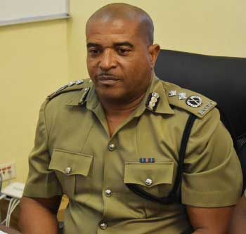 Image of Acting Police Commissioner, Milton Desir
