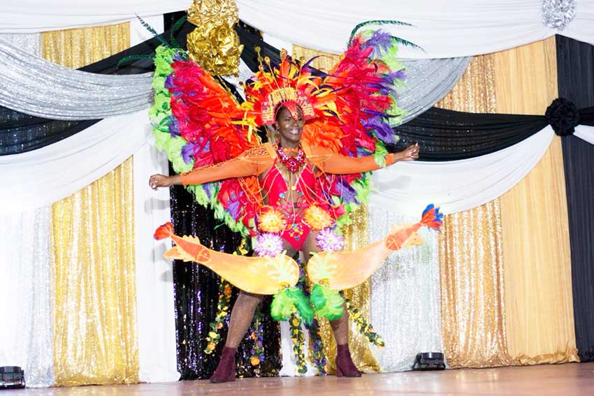 Image: Ms Soufriere Carnival Queen 2019- Ms Ianna Hippolyte sponsored by B&B Money Savers Inc