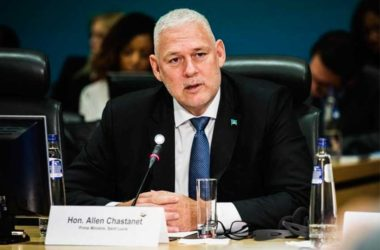 Image of Prime Minister Allen Chastanet.