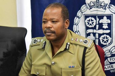 Image of Severin Monchery, Commissioner of Police.