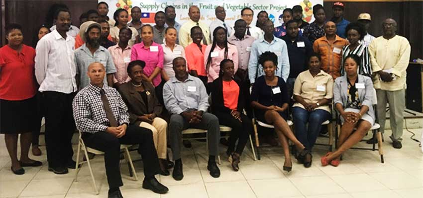 Image: Agricultural extension officers from around the island participated in the initiative which concentrated on the improvement of communication, work ethic, and interpersonal skills on the job.