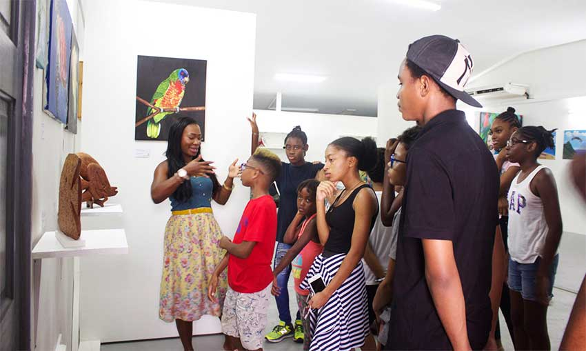Image: The Art Programme includes field trips to various locations, including art galleries and studios.