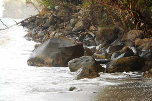 Image of Beach Erosion (Photo: Kingsley Emmanuel)