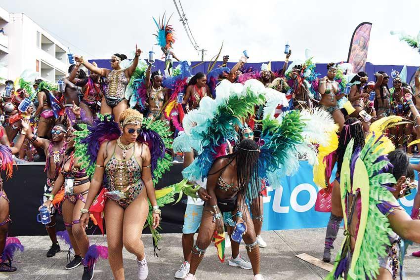 A scene from Carnival 2019