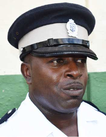 Image of Acting Assistant Superintendant of Police, Elvis Thomas