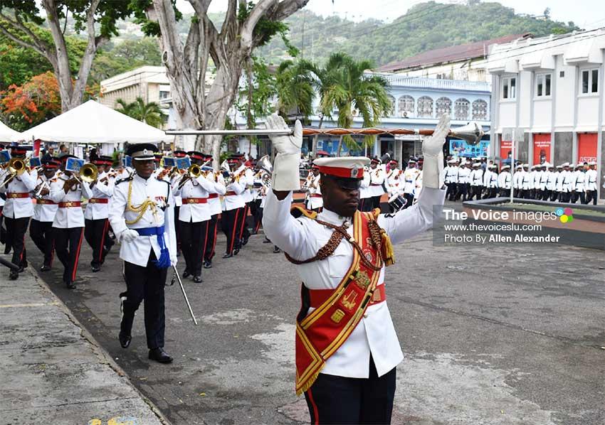 Image of parade in honour of President Tsai Ing-Wen.