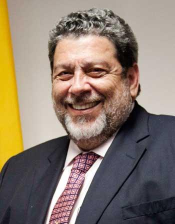 Image of Prime Minister Ralph Gonsalves'