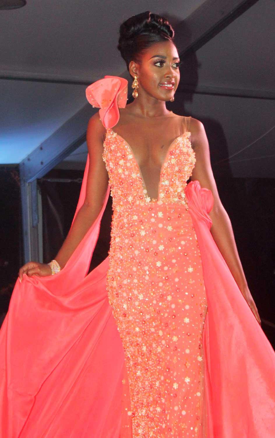 Image of Third runner-up Miss Sugar Beach ShirliannaLamontagne. PHOTO BY: Rae Anthony