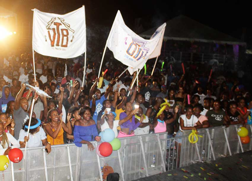 Image of Soca Monarch crowd
