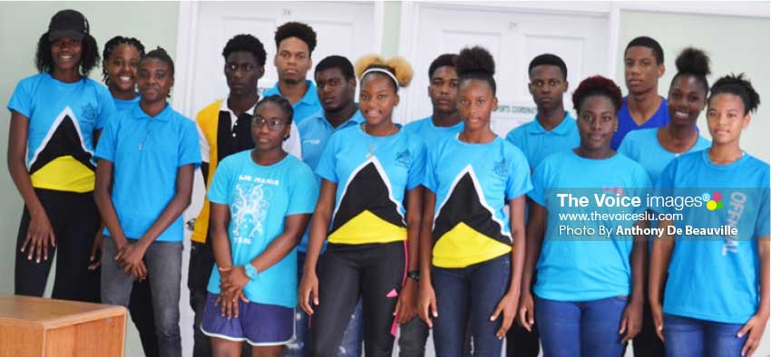 Image: Some of the faces that will be on show for Saint Lucia. (PHOTO: Anthony De Beauville)