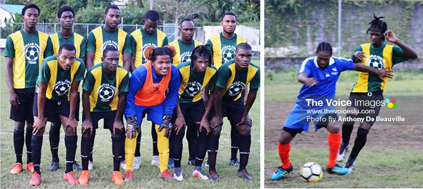 Image: Babonneau enjoyed a 3-0 over Vieux Fort North. (PHOTO: Anthony De Beauville)