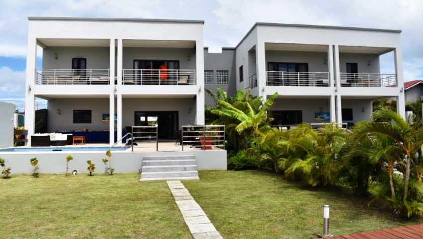 Image of Bay Gardens Waters Edge Villas in Rodney Bay.