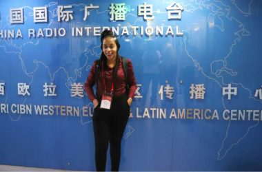 Image of Freelance/copywriter Mindy-Luquiana Chicot at China Radio International.