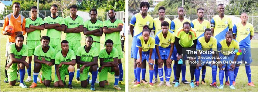 Image: (l-r) Mon Repos take on Laborie this evening and defending champions Marchand play Central Castries tomorrow evening. (Photo: Anthony De Beauville)