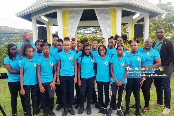 Image: National Under 14 Girls Team. (Photo: Anthony De Beauville)