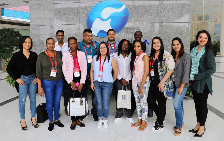 Image: Participants in the 2019 Seminar for Journalists from the English-speaking Caribbean.