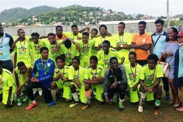 Image: SLFA Southern Zone U17 Champions, Victory Eagles. (Photo: VE)