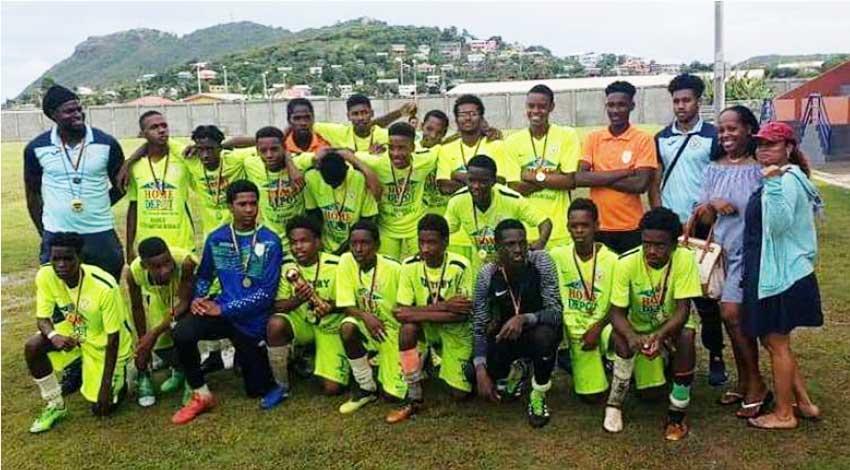 Image: SLFA Southern Zone U17 Champions, Victory Eagles. (Photo: VE)