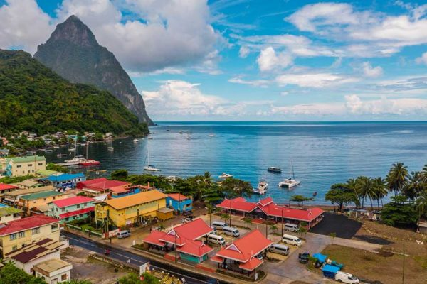 Image of Soufriere Bus Terminal and Organic Produce Market at Old Trafford