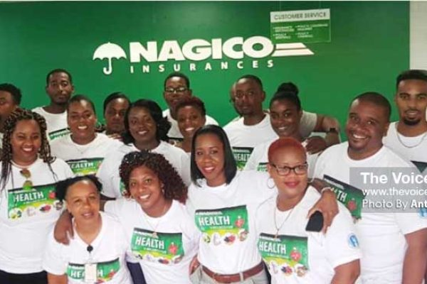 Image: Team NAGICO at the Health and Wellness Fair. (Photo: Anthony De Beauville)