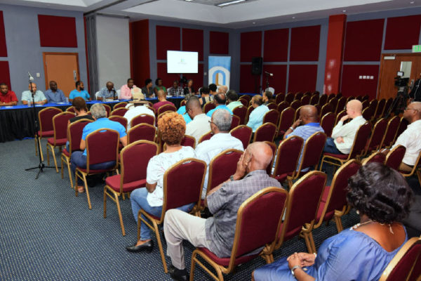 Image: 1st National Bank's second Annual Shareholders Engagement Forum took place at the Finance Administrative Centre earlier this month.