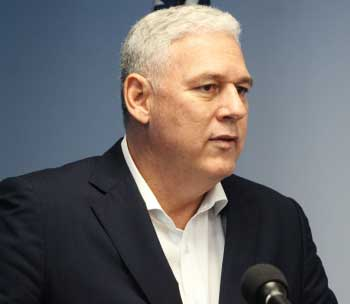 Image of Allen M. Chastanet, Prime Minister of Saint Lucia.