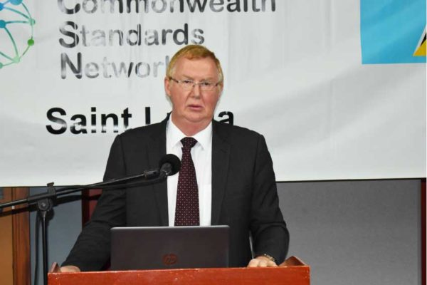 Image of Charles Barker, Project Leader for the CSN.