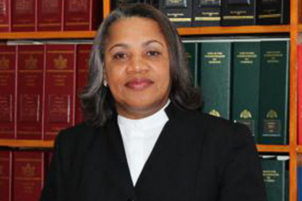 Image of Chief Justice Dame Janice Pereira.