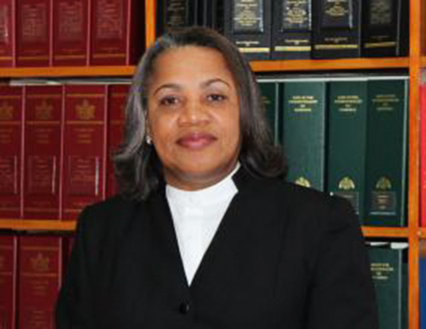 Image of Chief Justice Dame Janice Pereira.