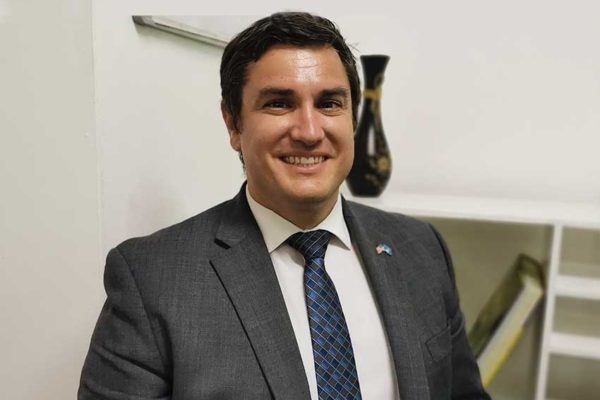 Image of Larry Socha, Public Affairs Officer at the United States Embassy in Barbados.