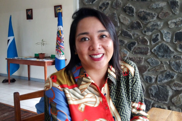 Image of OAS representative for Saint Lucia Lilly G. Ching-Soto.